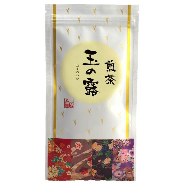 【煎茶】玉の露(たまのつゆ) 100g