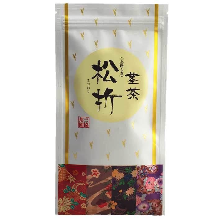 【玉露茎】松折(まつおり) 100g
