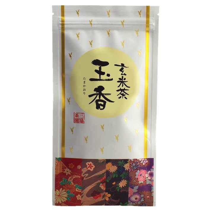 【玄米茶】玉香(たまかおり) 100g