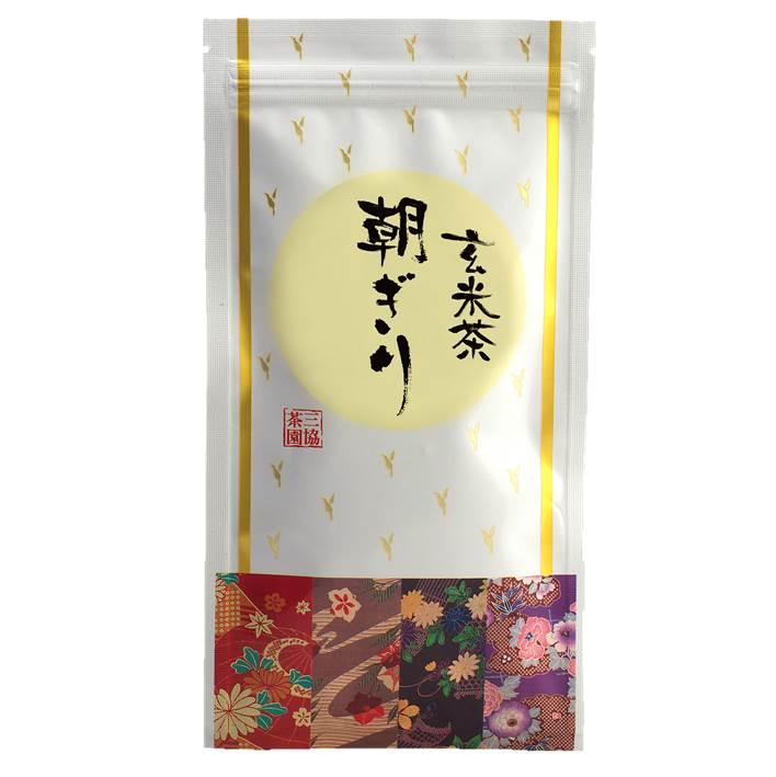 【玄米茶】朝ぎり(あさぎり) 100g
