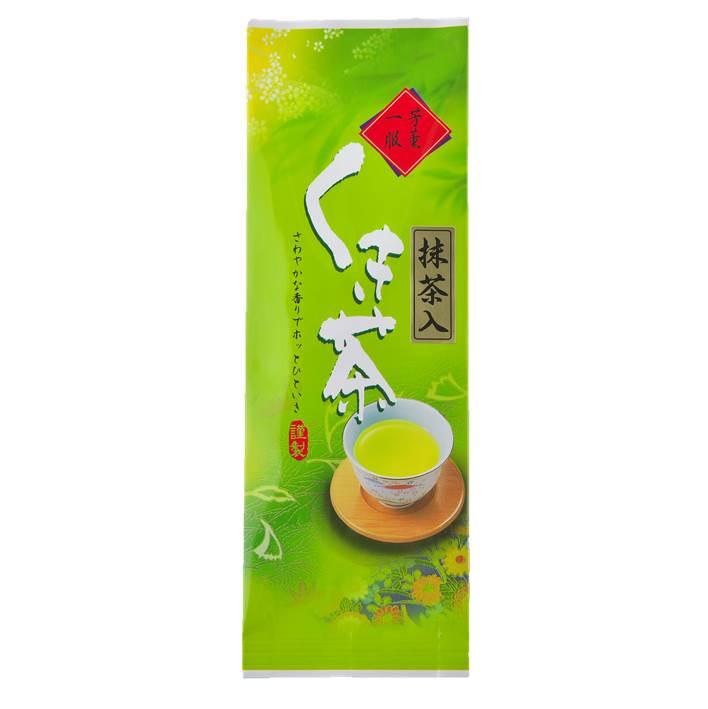 抹茶入りくき茶 100g