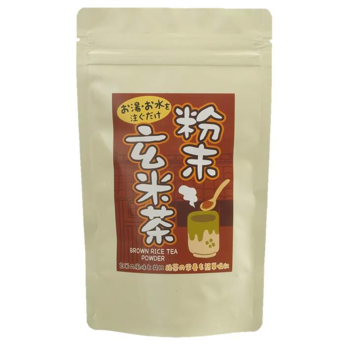 【粉末茶】粉末玄米茶 100g