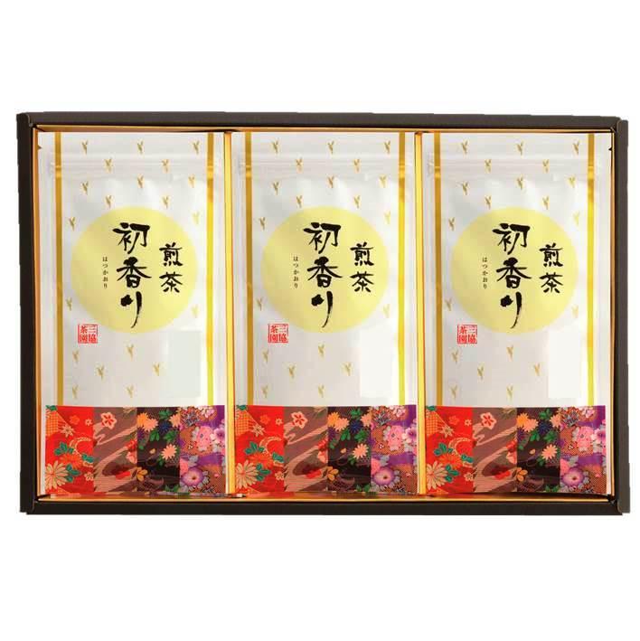 【Web限定】初香り 100gx3袋 平箱