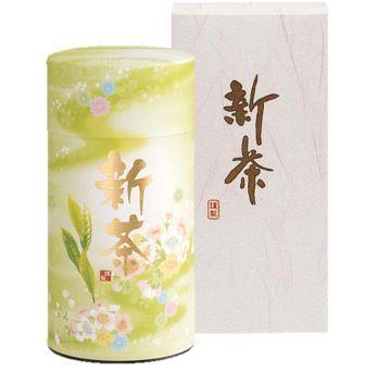 【ご予約受付中】限定八十八夜摘み新茶缶 200gx1 茶缶